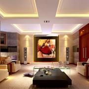 家庭影院小客厅设计