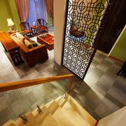 楼梯口隔断设计