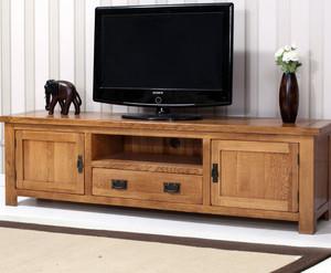防腐蚀的实木电视柜图片