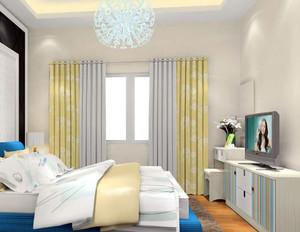 两室一厅韩式唯美卧室梳妆台装修效果图