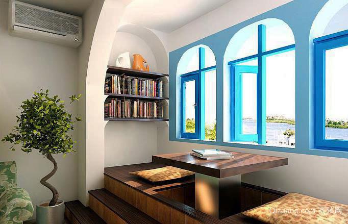 各种风格一种温馨的阳台榻榻米装修效果图展示