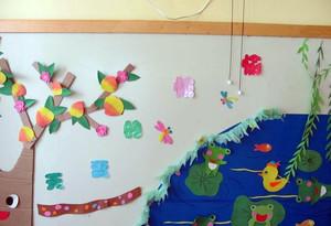 幼儿园墙壁图贴