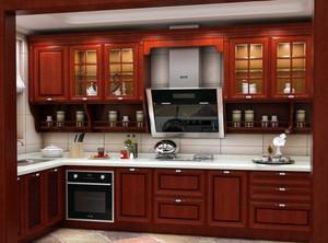 亮眼的欧式厨房橱柜装修效果图