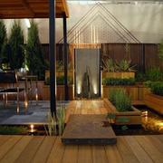 空气新鲜露台花园
