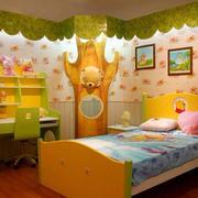 巧色调儿童房装修
