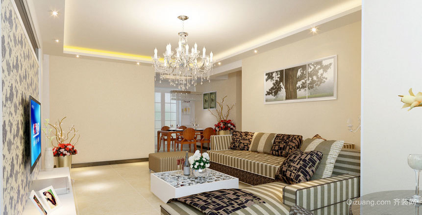 充满惊喜的室内装潢设计效果图