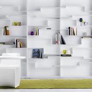 别墅书柜效果图