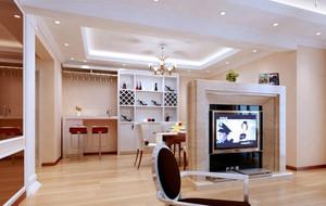 时尚潮流的客厅吧台装修效果图