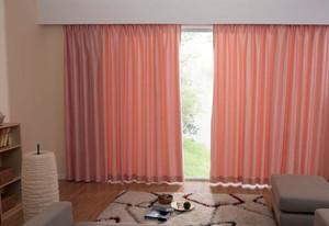 别墅防噪音窗帘效果图