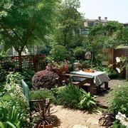 现代风格露台花园