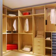 黄色调整体衣柜