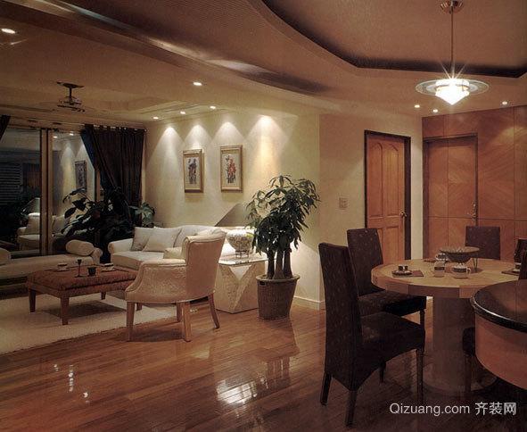 二室一厅家居装修设计效果图