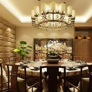 气氛和谐的饭店装修