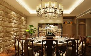 中式大型饭店装修效果图