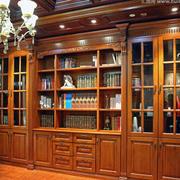 精致书柜效果图