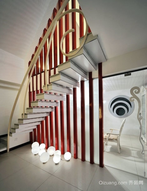 2015宜家风格楼梯装修效果图