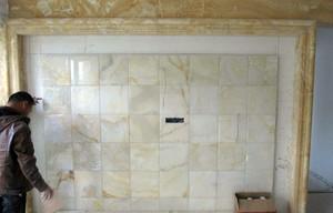 白色马赛克背景墙装修效果图