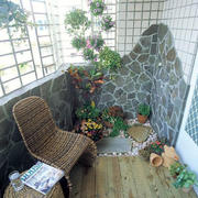 三居室阳台装修