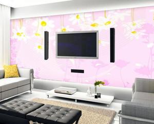 自然风格客厅电视墙