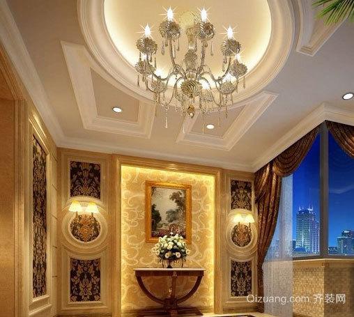 金碧辉煌的客厅装修效果图