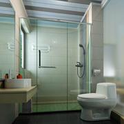 清新型洗手间设计
