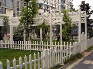 多功能的围墙栏杆设计效果图