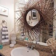 自然风格洗手间设计
