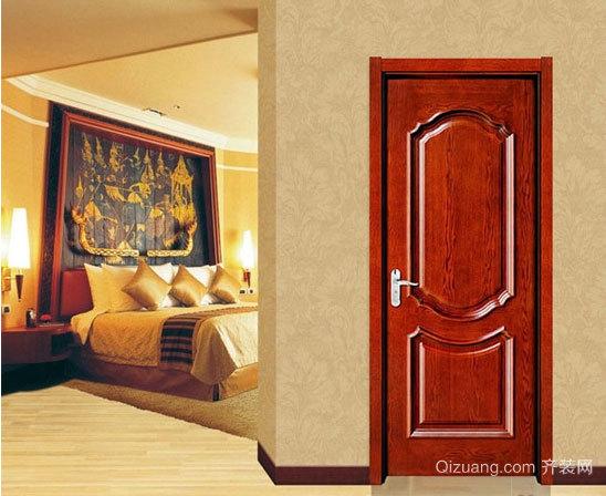 宜家的实木套装门效果图