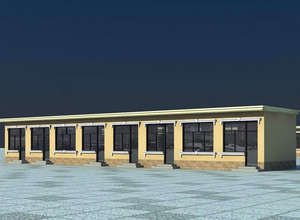 结构简单的平房设计装修效果图