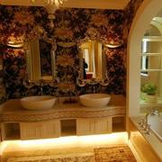 后现代风格洗手间设计