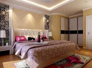 样式多变的卧室背景墙装修效果图
