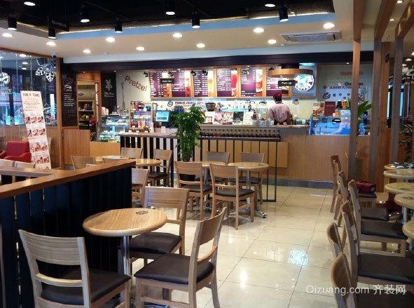 独特创新感的咖啡店设计装修效果图