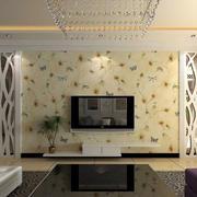 奢华大气的电视背景墙效果图