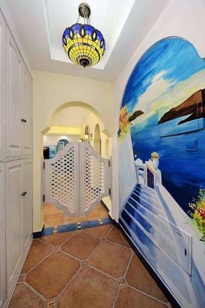 地中海风格走廊吊顶设计