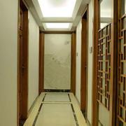 中式复古走廊吊顶设计
