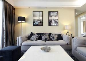 2015特点鲜明客厅现代装饰画效果图