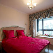 气氛浪漫的卧室效果图