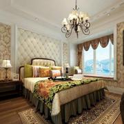 质感细腻的卧室床头背景墙