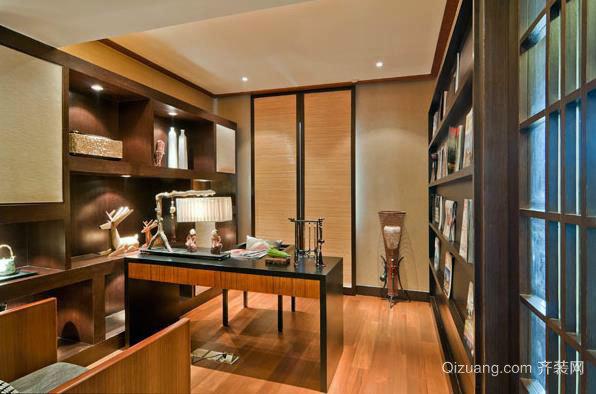 风格各异、个性时尚的小书房设计装修效果图