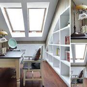 小小书房斜顶阁楼装修