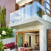 复式小平米标准阳台设计