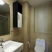 清新简约的卫生间设计