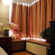 中式木质窗帘设计