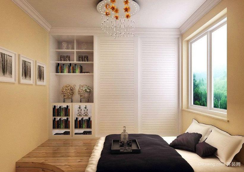 90平米日式风格卧室榻榻米装修效果图