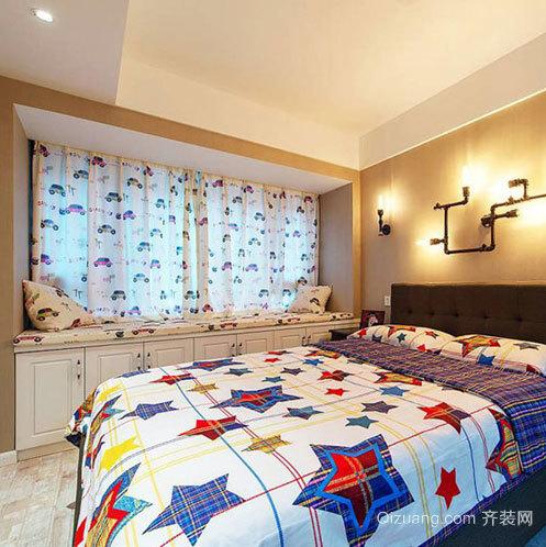 现代舒适的家居飘窗装修设计效果图