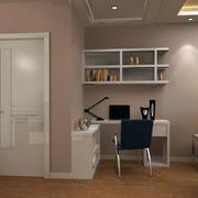 三室两厅简约小书房装修