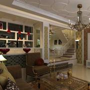 别墅客厅专用的酒柜装修