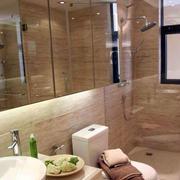 淋浴浴缸一体化的卫生间设计