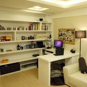 小户型开放式书房设计