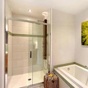 淋浴、浴缸分离的卫生间设计